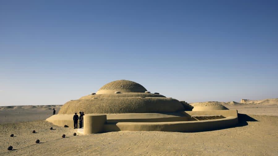متحف الحفريات وتغير المناخ بوادي الحيتان في مصر