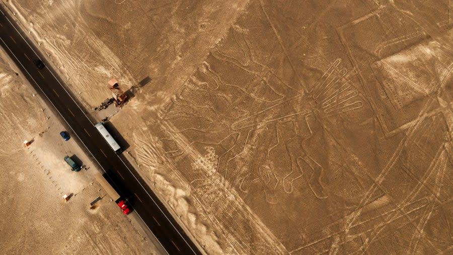 """كيف يمكنك زيارة """"خطوط نازكا"""" في بيرو"""