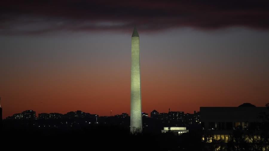 نصب واشنطن التذكاري في العاصمة واشنطن