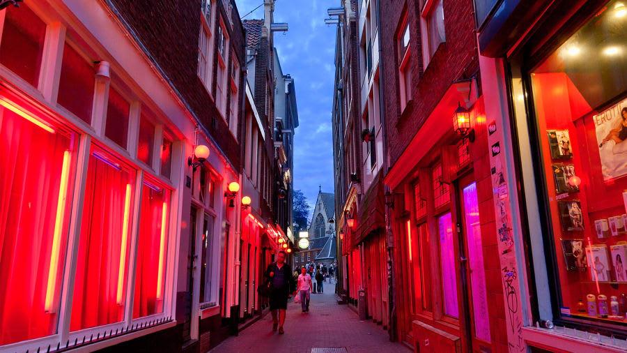 منطقة الضوء الأحمر في أمستردام