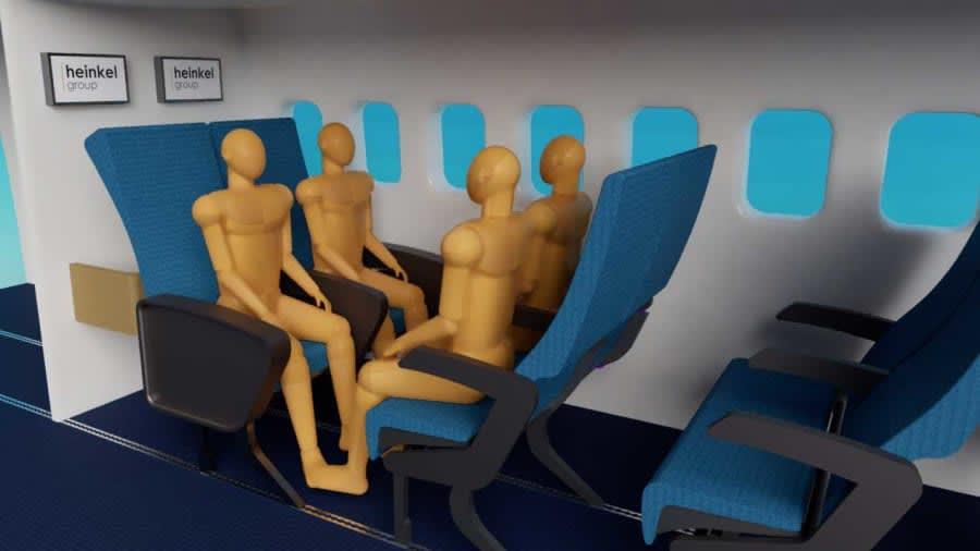 قائمة المرشحين لجوائز المقصورة الكريستالية تكشف عن تصاميم داخلية مستقبلية للطائرات