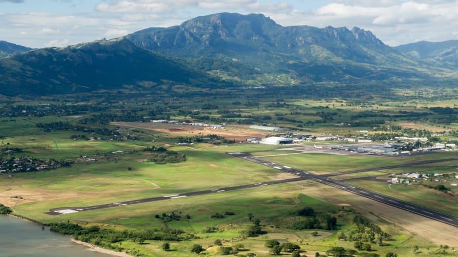 مطار نادي الدولي في جمهورية فيجي