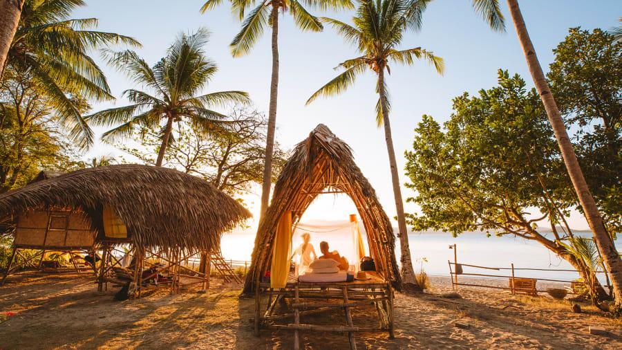 جزيرةبالاوان في الفلبين