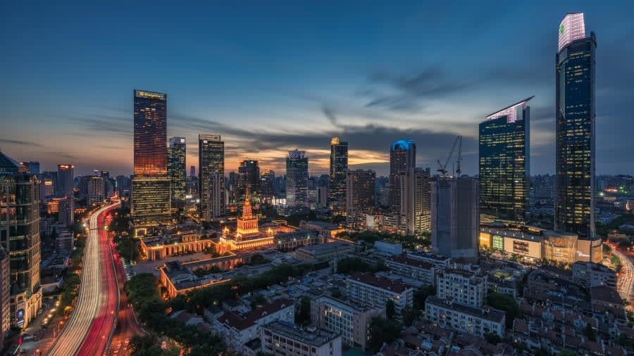 شنشى باي لو/ كاندينغ لو في شنغهاي