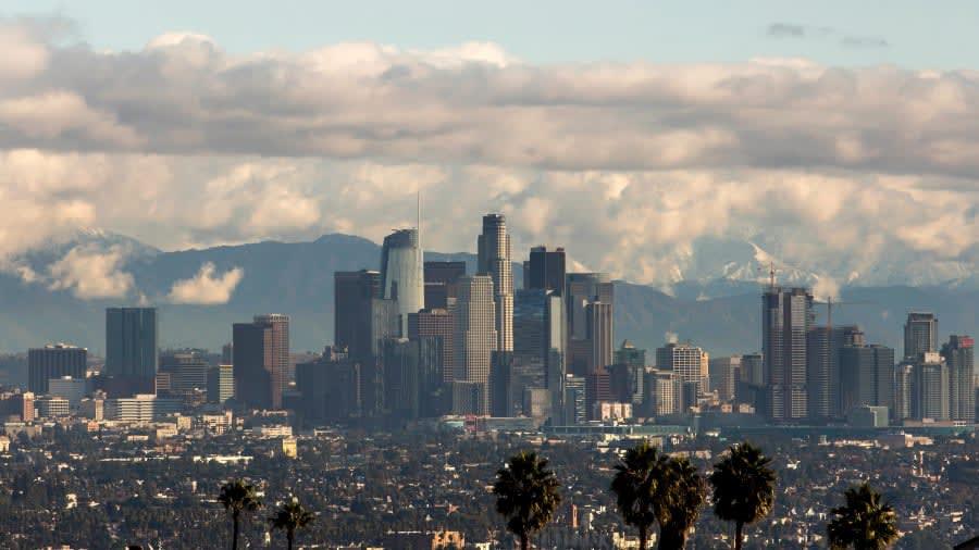 داون تاون في لوس أنجلوس