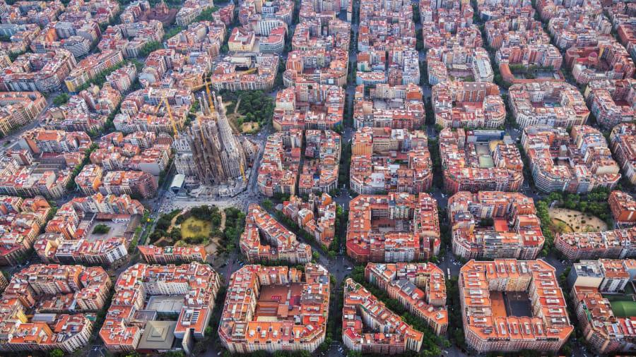 إسكيرا دي ليكسامبل في برشلونة