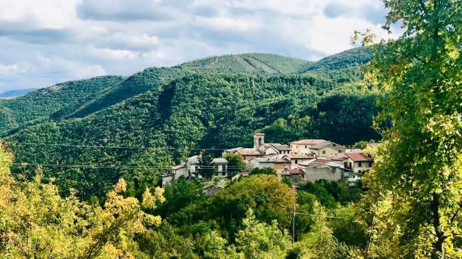 بلدة نورتوسشي الإيطالية