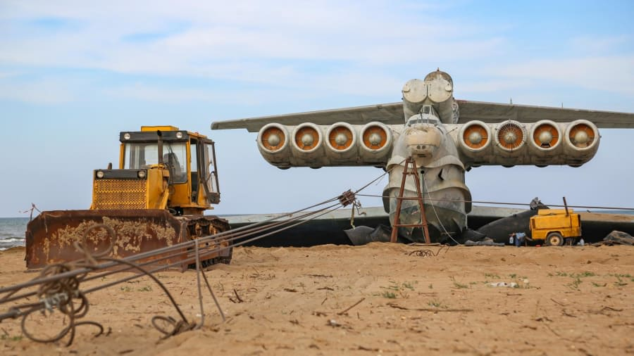 وحش بحر قزوين