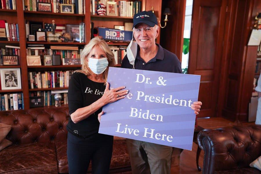 جو بادين وزوجته جيل