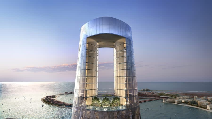 في قلب دبي..يمكنك رؤية غروب الشمس من أعلى نقطة في العالم