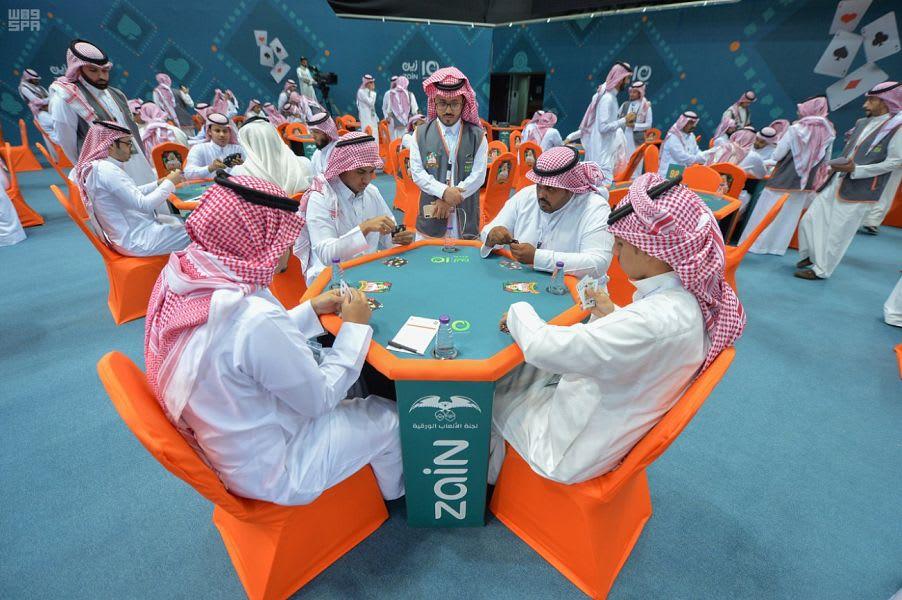 بالصور..انطلاق بطولة البلوت بالسعودية