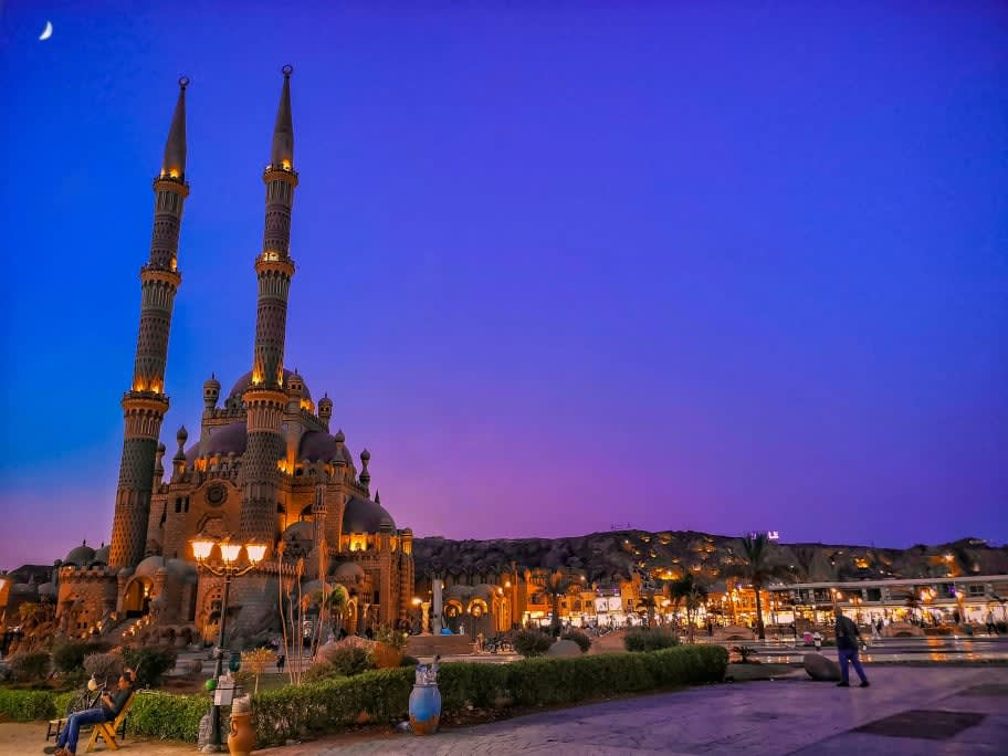 مسجد الصحابة في شرم الشيخ