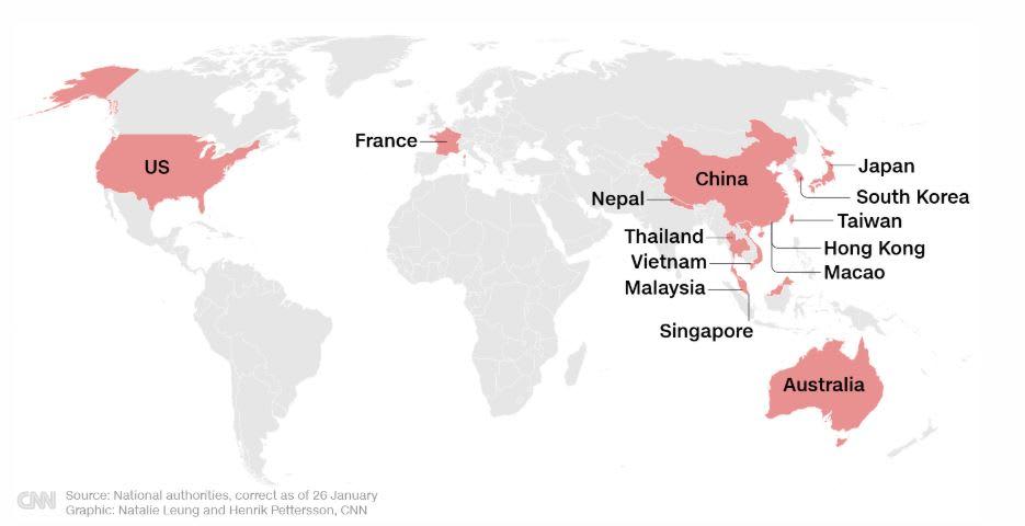 إليك دليلك المرئي لفيروس كورونا الصيني