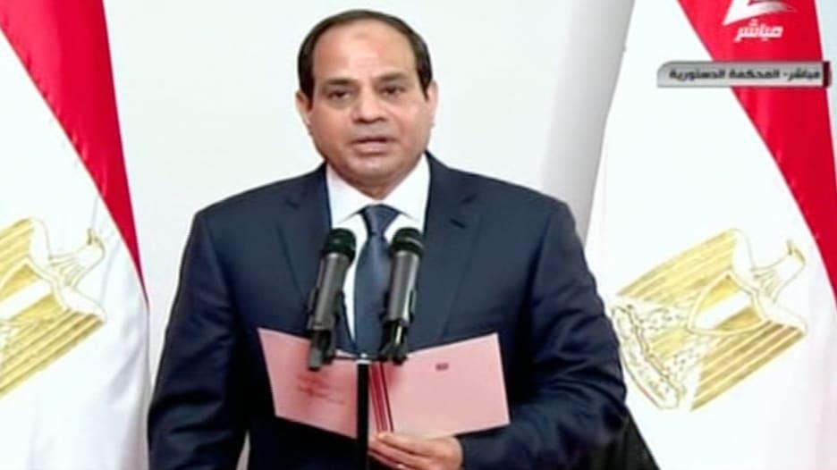 مشاهد من حفل تنصيب الرئيس المصري المنتخب عبدالفتاح السيسي