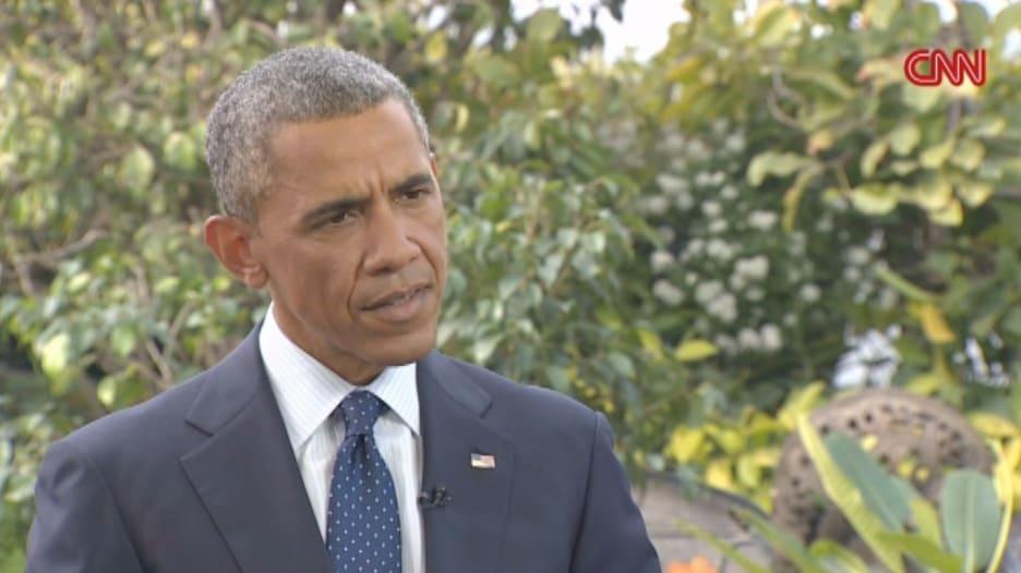 أوباما يتحدث لـCNN حول قضايا حقوق الإنسان بالسعودية