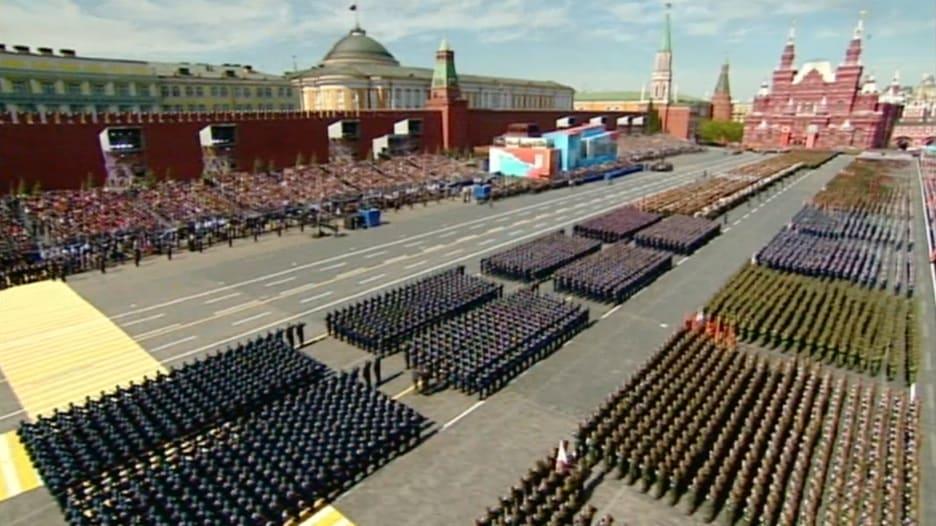 شاهد.. الجيش الروسي بعد 70 عاما من انتصاره على النازية