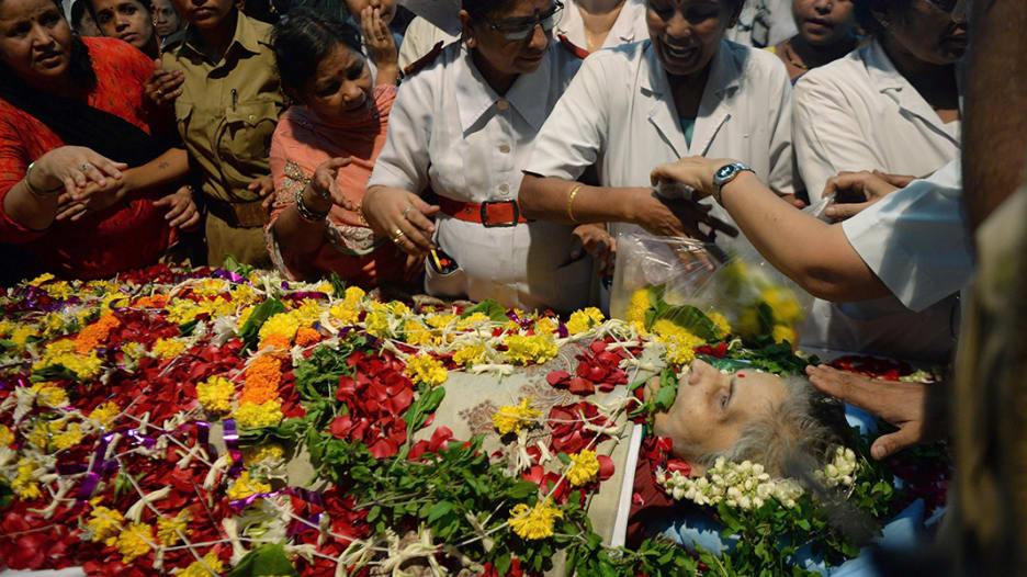 وفاة هندية بعد غيبوبة دامت 42 سنة دخلتها إثر اعتداء جنسي