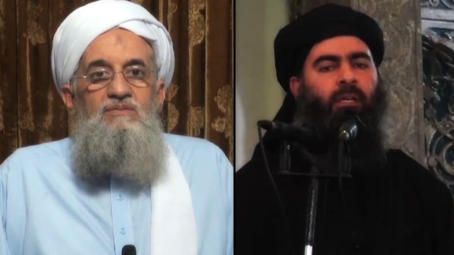 """الظواهري زعيم القاعدة يستخف بالبغدادي زعيم داعش.. ومنافسة بين المجموعتين لإثبات """"الطرف الأقوى"""""""