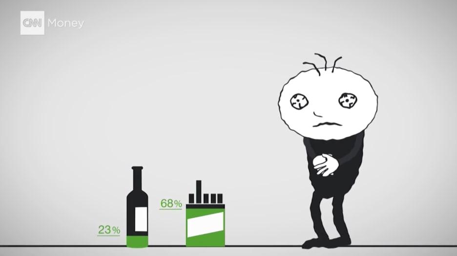 شاهد: ما الأسوأ.. الماريجوانا أم الخمر؟