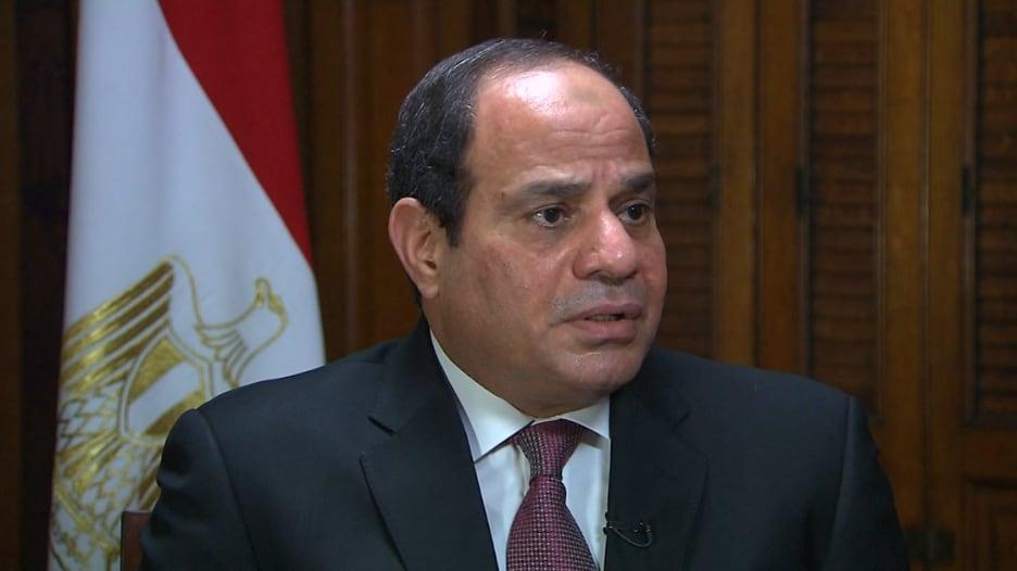 السيسي لـCNN: العلاقة مع أمريكا أكبر من المساعدات.. وحرية الإعلام في مصر غير مسبوقة