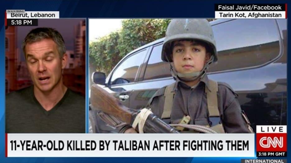 بالفيديو: مقتل طفل أفغاني على يد حركة طالبان.. بعدما تحول لمقاتل مذهل