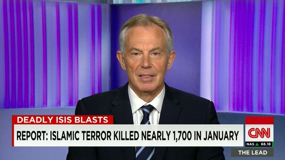 توني بلير لـCNN: أغلب الإرهابيين ليسوا فقراء وعلينا معالجة قضايا بالأيديولوجية الإسلامية