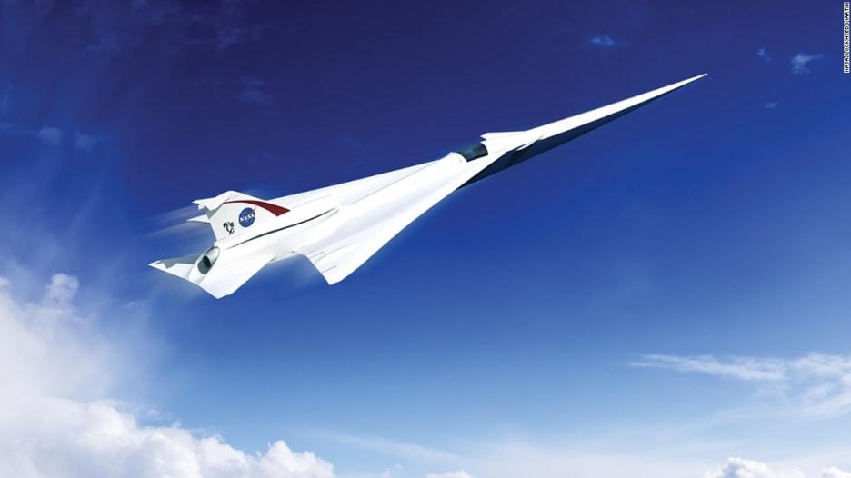 """ناسا تقدم منحة لصناعة طائرة ركاب أسرع من الصوت """"وبلا صوت"""""""