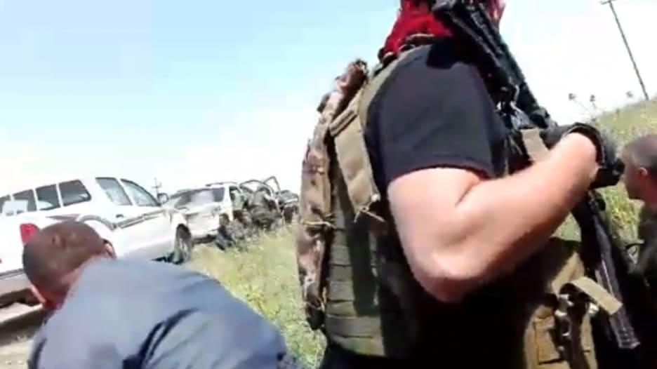 """فيديو يظهر لحظات الاشتباك بين القوات الأمريكية الخاصة والبشمرغة ضد """"داعش"""" شمال العراق"""