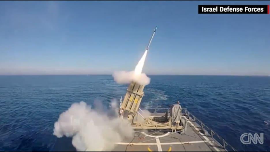 """بالفيديو: إسرائيل تكشف عن نظام """"قبة البحر الحديدية"""""""