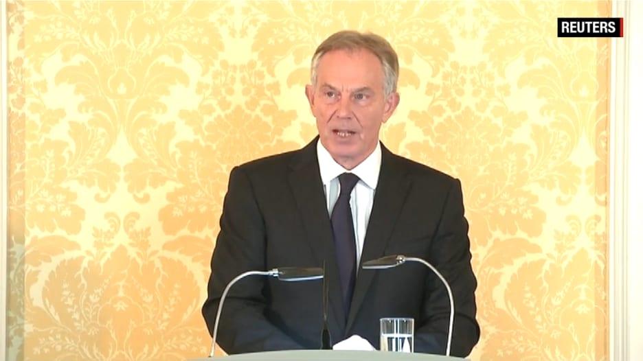 شاهد اعترافات توني بلير الآسفة بعد تقرير لجنة التحقيق البريطاني حول حرب العراق