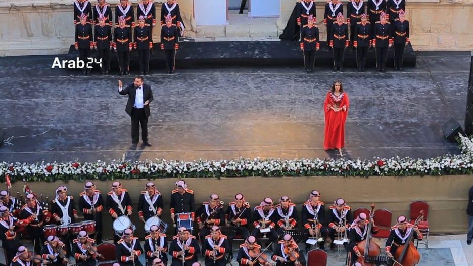 الأردن يطلق مهرجان جرش للثقافة والفنون بحضور جماهيري كبير