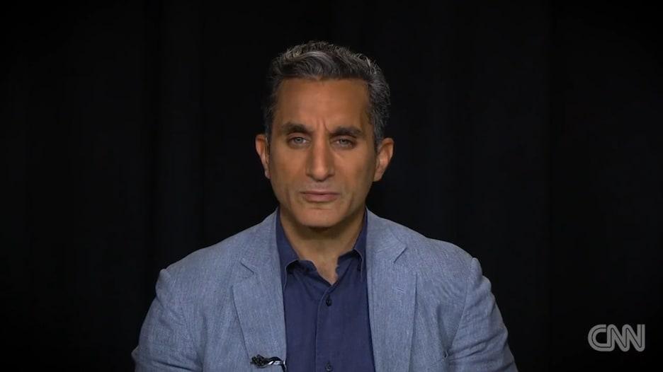 باسم يوسف بكوميديته الساخرة يتناول السياسة وترامب وأمريكا
