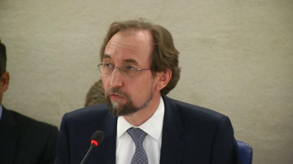 """مفوض الأمم المتحدة: """"دولة يحكمها طبيب يستخدم الغاز على شعبه"""""""