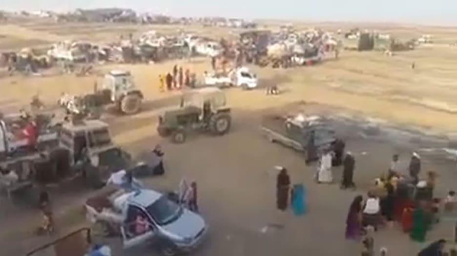 قوات سوريا الديمقراطية تتقدم شمال الرقة