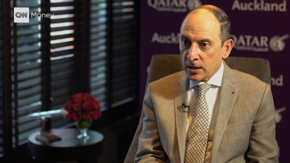 رئيسها التنفيذي يبين لـCNN كيف تدعم الخطوط القطرية سوق العمل بأمريكا