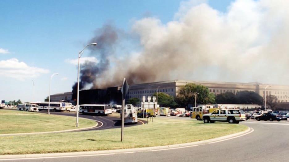 شاهد.. صور لم تنشر من قبل لهجمات 11 سبتمبر على البنتاغون