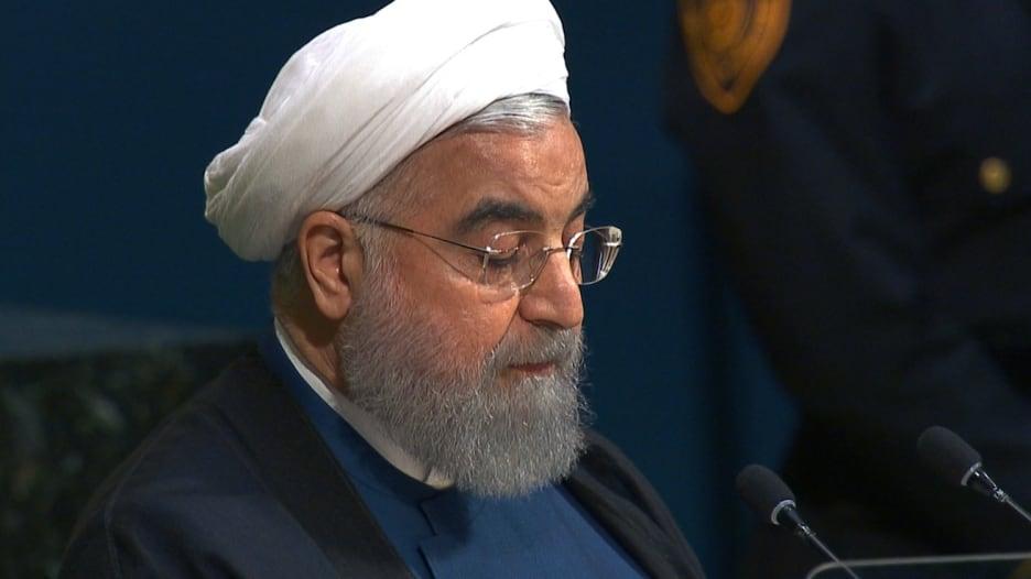 شاهد.. روحاني: على أمريكا شرح أسباب نشرها الإرهاب والتطرف في المنطقة