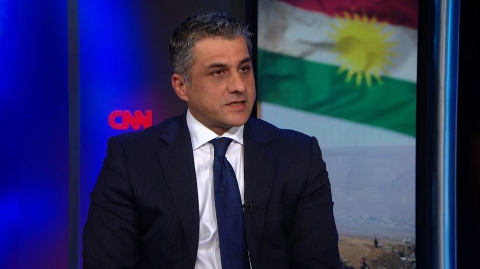 ممثل إقليم كردستان بلندن: هل هكذا يُكافأ الأكراد لقتال داعش؟