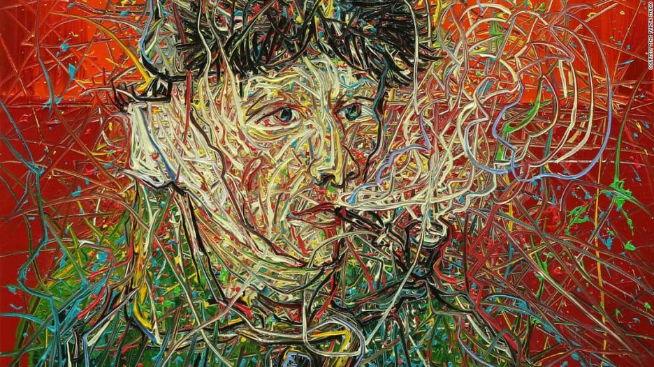 فنان يعيد رسم لوحات فان غوخ بأسلوب جديد