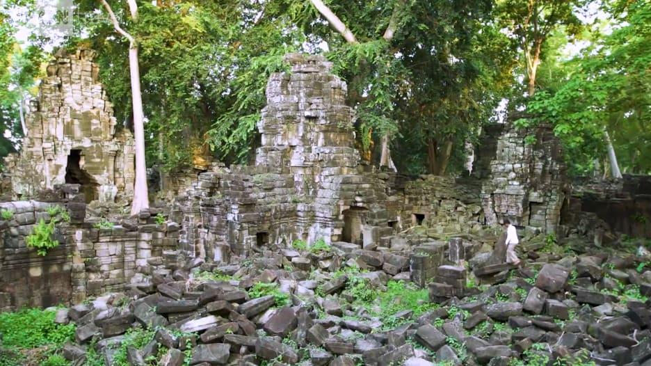 اكتشف الألغاز المنسية بين آثار هذا المعبد الكمبودي