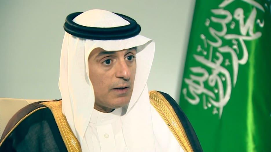 حصرياً.. الجبير لـCNN: لا نريد تغيير نظام الدوحة وقضية قطر صغيرة جدا