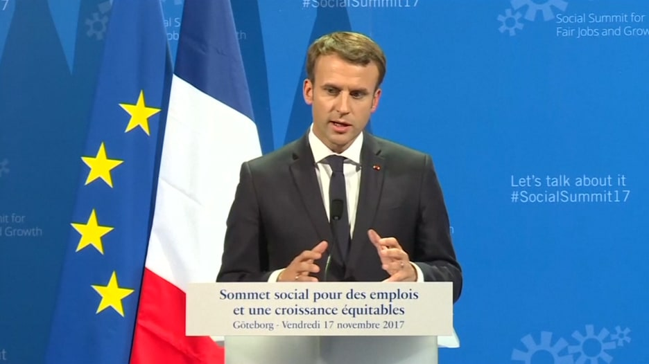 الرئيس الفرنسي: الحريري سيعود إلى لبنان خلال الأيام أو الأسابيع المقبلة