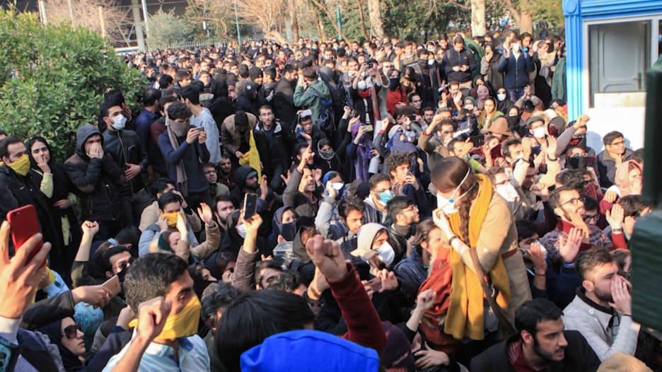 في اليوم السادس من مظاهرات إيران.. هذه آخر المستجدات