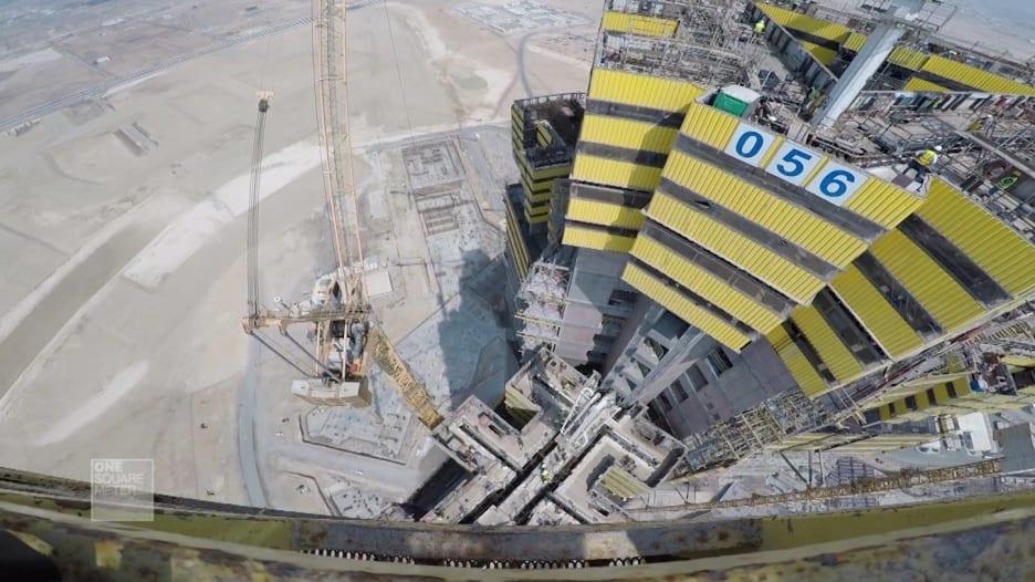برج جدة: ناطحة السحاب الجديدة الأطول في العالم