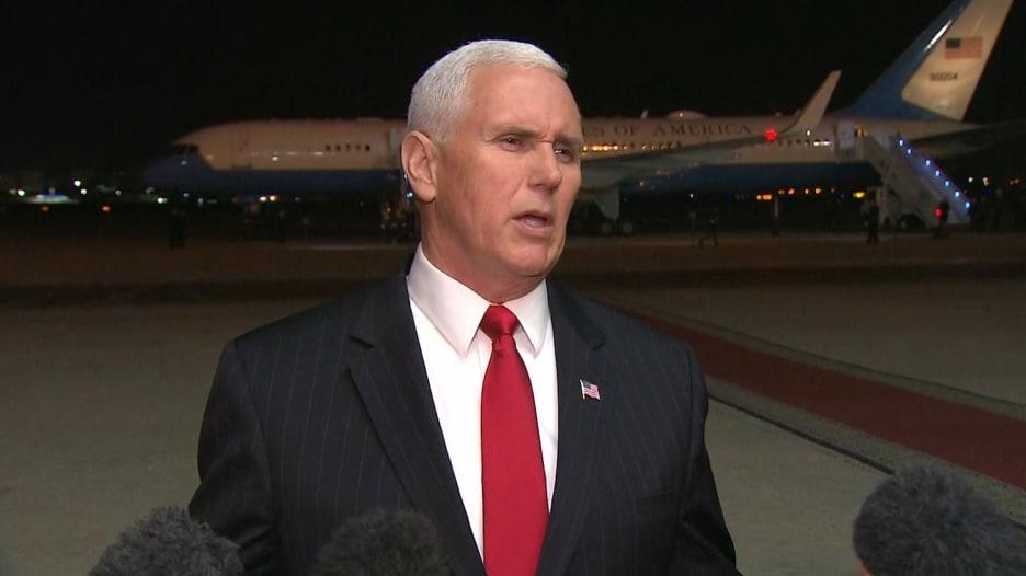 بنس: أصغينا إلى السيسي حيال القدس.. وناقشنا إطلاق سراح أمريكيين مسجونيين بمصر