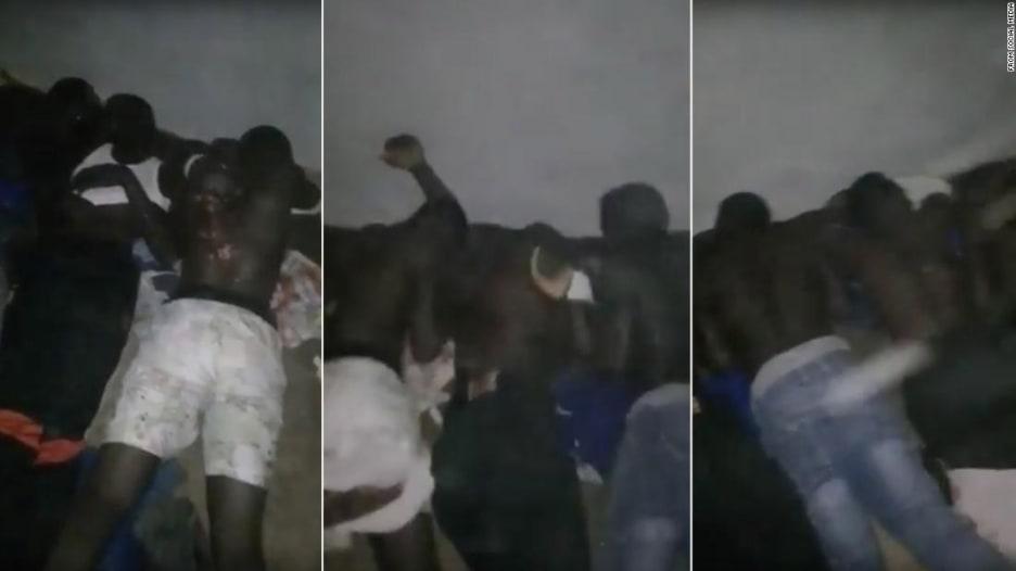 شاهد.. تعذيب مهاجرين سودانيين في ليبيا طلباً للفدية