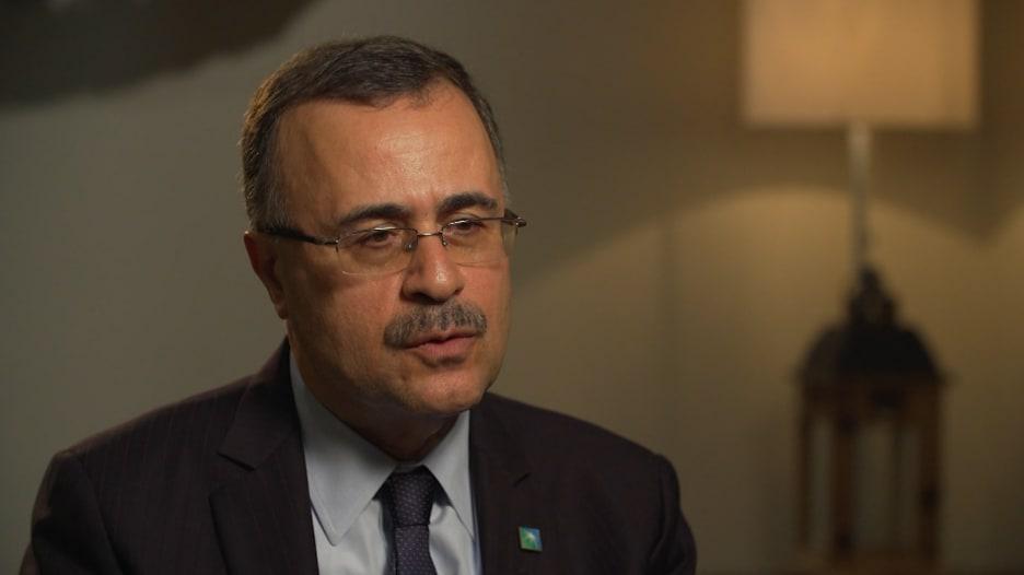 رئيس أرامكو لـCNN: نقيّم الأسواق المناسبة للاكتتاب ولم نطلب انحناء أحد