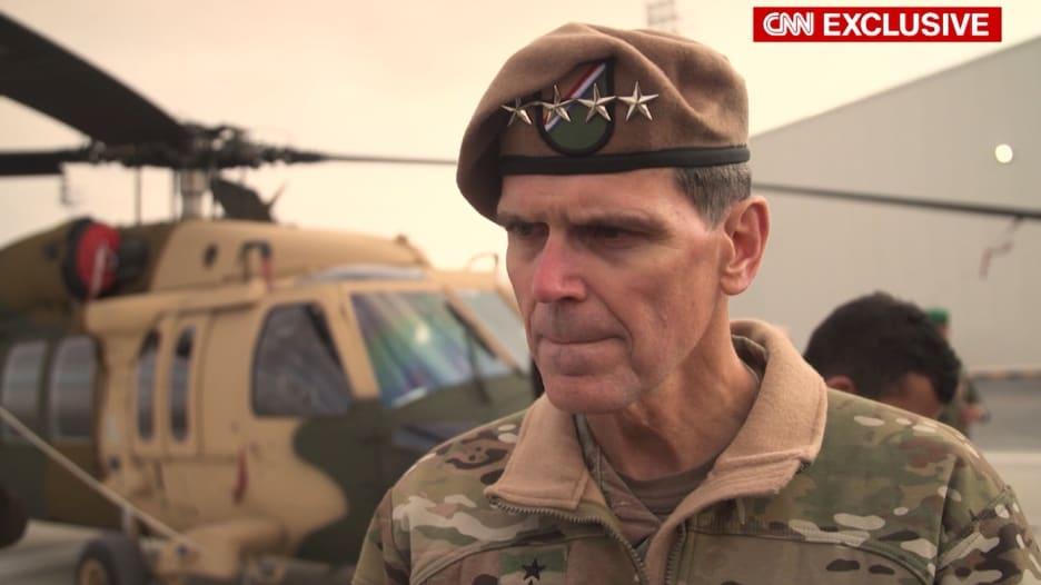 الجنرال فوتيل لـCNN: لم نسحب قواتنا من منبج