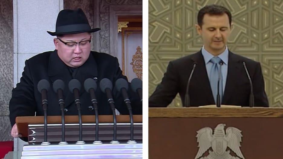 شاهد.. هل تواطأت بيونغ يانغ مع الأسد لصنع الأسلحة الكيماوية؟