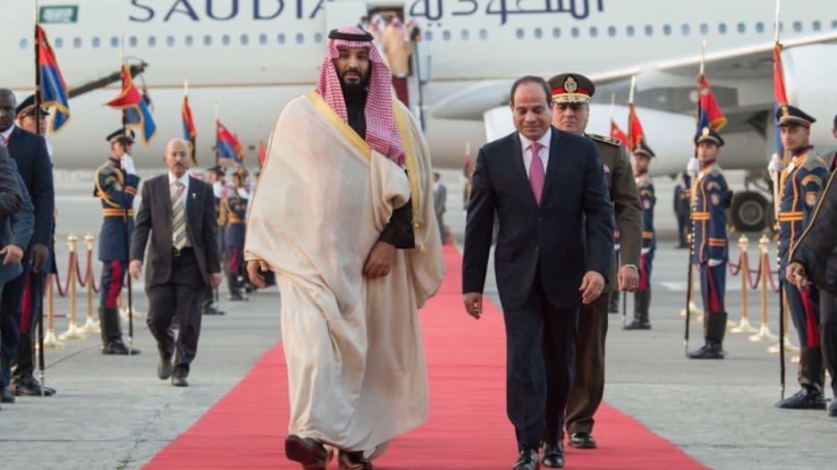 """شاهد.. السيسي ومحمد بن سلمان يحضران """"سلّم نفسك"""""""